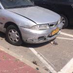 רכב לגריטה לאחר תאונה