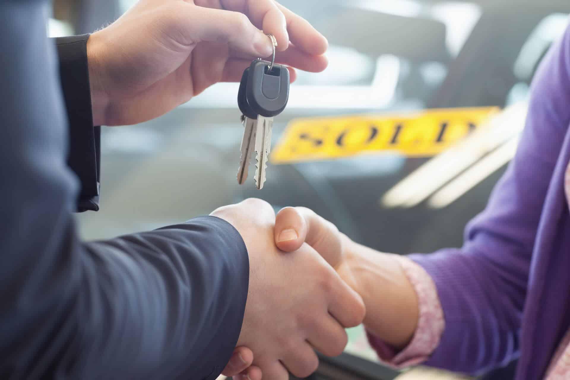 מכירת רכבים